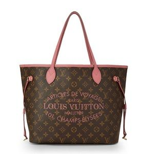 Authentic Limited Edition Louis Vuitton bag .